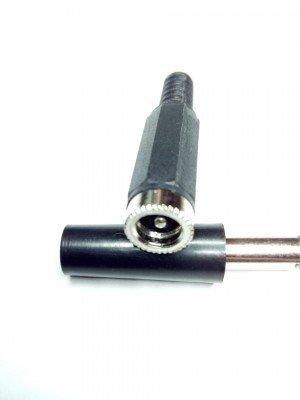 Гнездо на кабель под штекер (Dн Х Dв)   5.5Х2.5мм