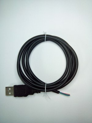 USB с кабелем