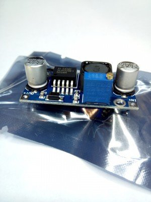 32V - 3.2V  в 4- 38V  4А Повышающий стабилизатор