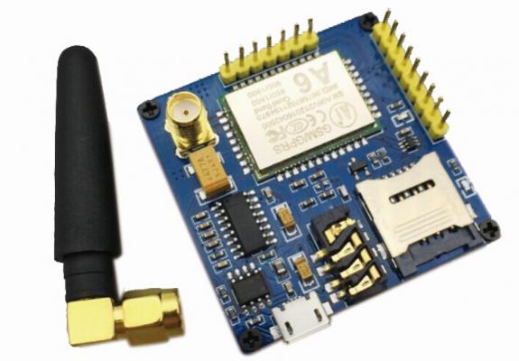 A6 module, GSM, GPRS