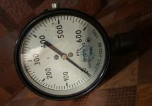 Монометр 600KPa