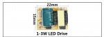 1-3W LED Driver(Use 2 years) Input Voltage : 260V Output Voltage : 3-12V Output Current : 180-200