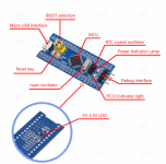 STM32F103C8T6 ARM  Minimum System